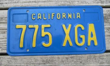 California Lipstick License Plate 2015 DMV