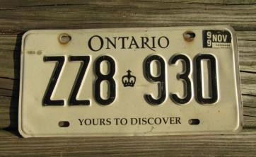 Newfoundland & Labrador Canada License Plate 2013