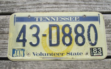 Tennessee Sounds Good To Me Truck License Plate 2010