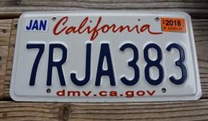 California Lipstick License Plate 2018 DMV