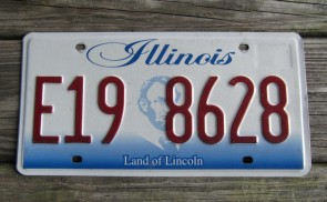 Illinois Land of Lincoln License Plate