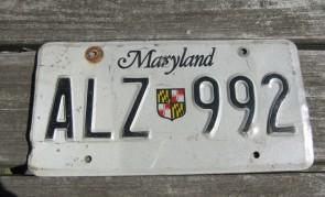 Maryland Sheild Website License Plate 2009
