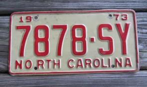 North Carolina First In Flight License Plate 2000