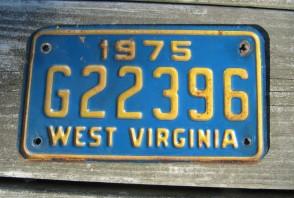 West Virginia Wild, Wonderful License Plate 2015