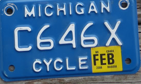 Classic YOM Collectible License Plates for Sale