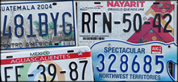 License Plates from World Countries, Foreign International License Plates, European Private Number License Plate Tags, License Plates Collections for Sale Cheap