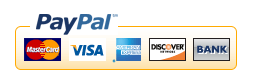 Use your credit card or bank card to remit with PayPal!