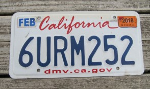 California Lipstick License Plate 2018 DMV