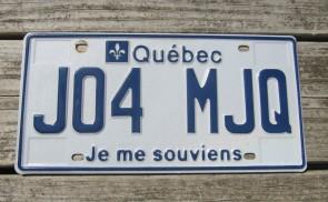 Canada New Brunswick License Plate 1999