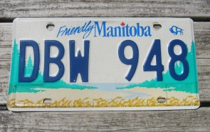 Canada New Brunswick Pciture Provice License Plate 1958
