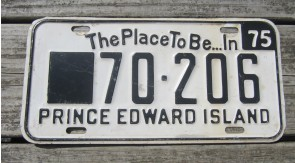 Prince Edward Island Canada The Place To Be License Plate