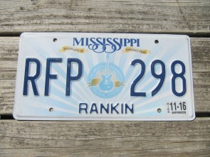 Mississippi Lucille License Plate 2016