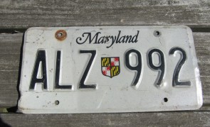 Maryland Shield License Plate