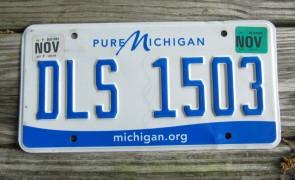 Michigan Pure Michigan License Plate 2017