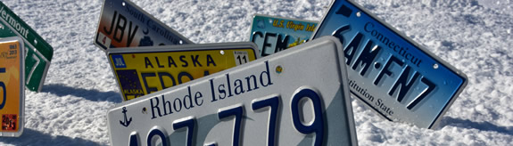 Recycle Old License Plates, Reuse Old License Plates, Upcycle Old License Plates, What to do with Old License Plates, What to Make with Old License Plates, Where to Buy Old License Plates