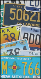 Old License Plates for Sale